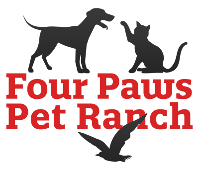 Four Paws Pet Ranch Logo